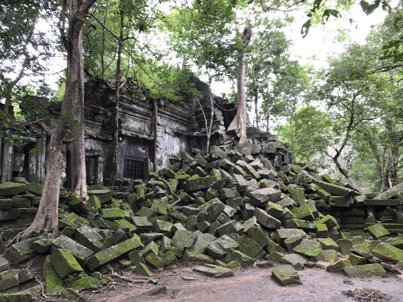 幻想の巨大廃墟遺跡ベンメリアへ!