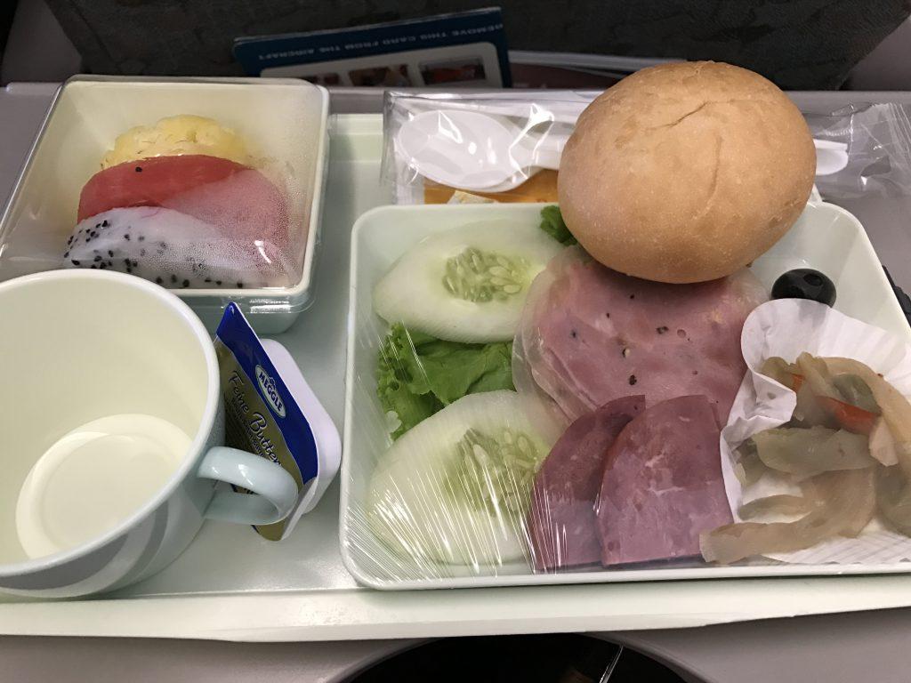 ベトナム航空シェムリアップ機内食