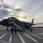 ベトナム航空利用、ハノイ経由のトランジットでシェムリアップへ