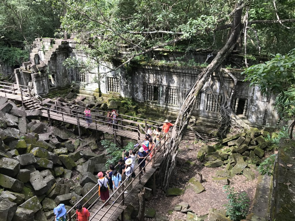 ベンメリア中国人観光客