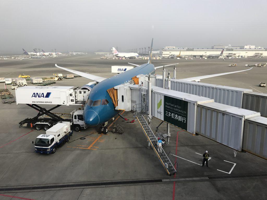 成田空港ベトナム航空