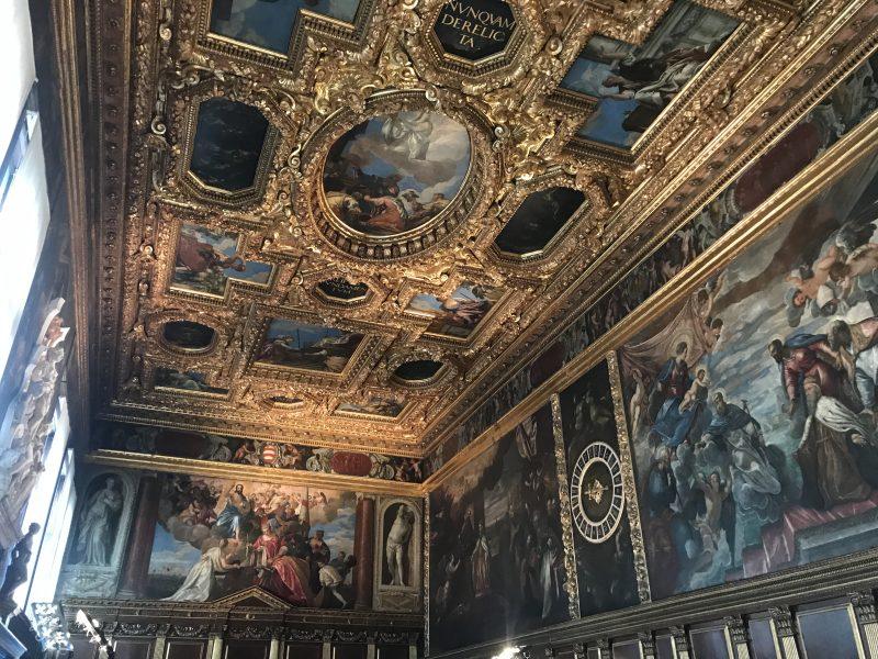 ベネチアのドゥカーレ宮殿は見どころ満載!世界的にも最高峰な内装に感動