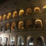 コロッセオのライトアップ
