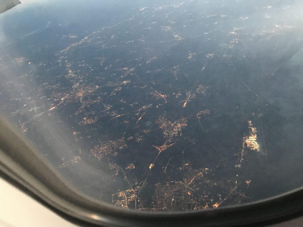 ベネチア ミラ上空