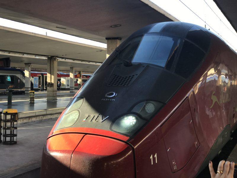 イタリア高速鉄道イタロを使ってフィレンツェからナポリへ