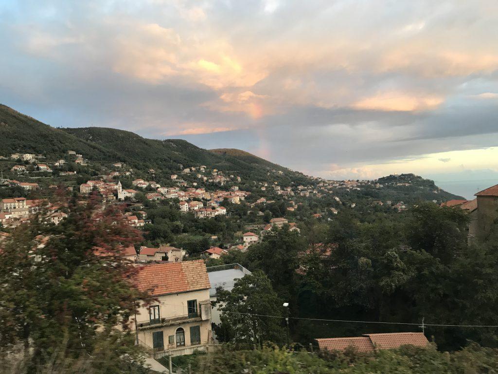 アマルフィからナポリへ