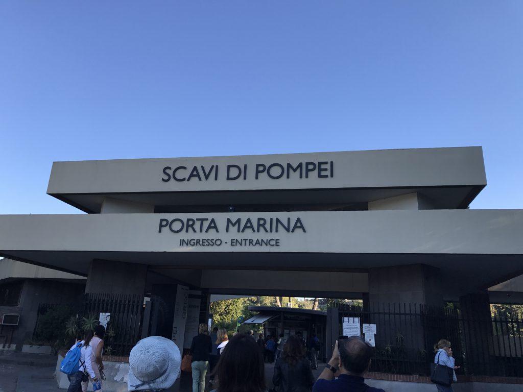 ポンペイマリーナ門入口