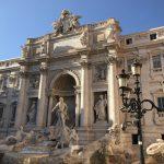いざローマ!トレビの泉でコインどう投げる?スペイン広場はジェラードNG?