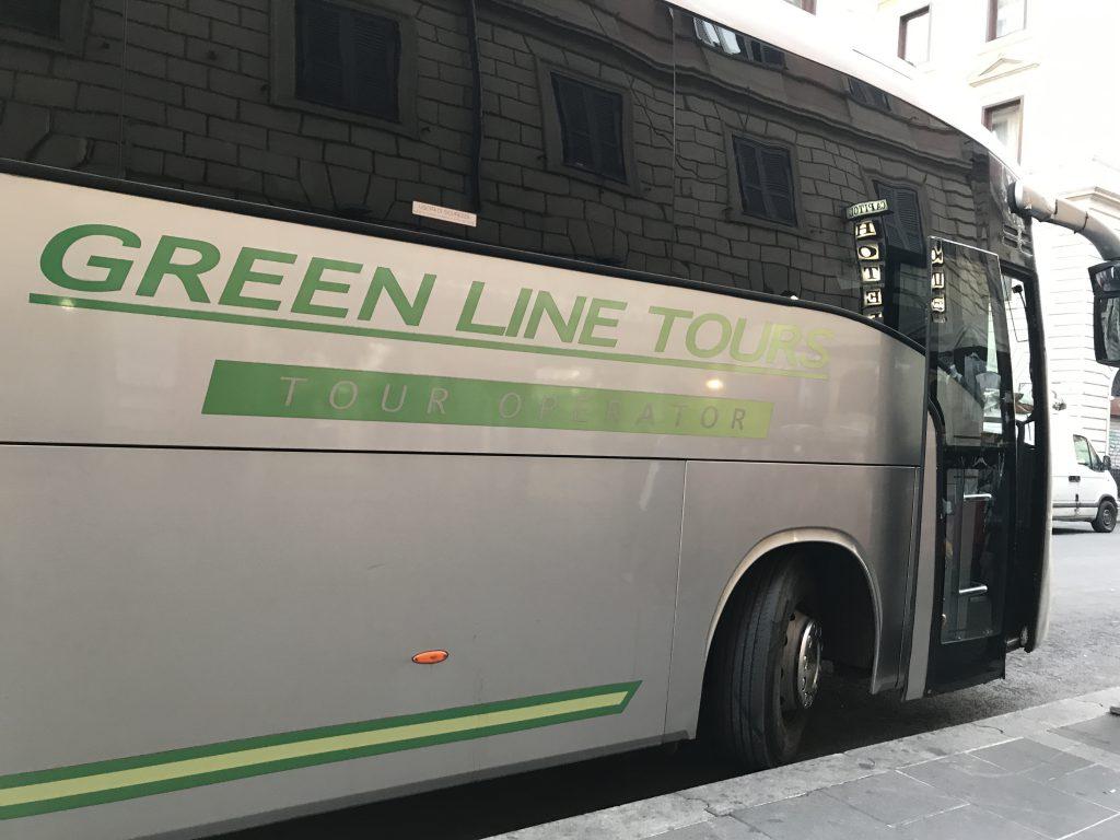 グリーンラインツアーズバス
