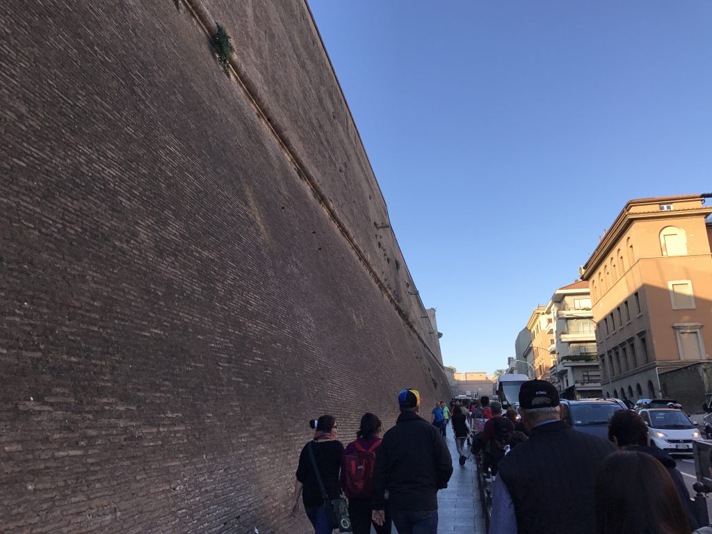 バチカン城壁