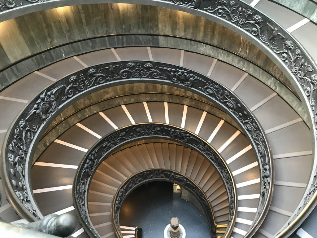 バチカン美術館 階段