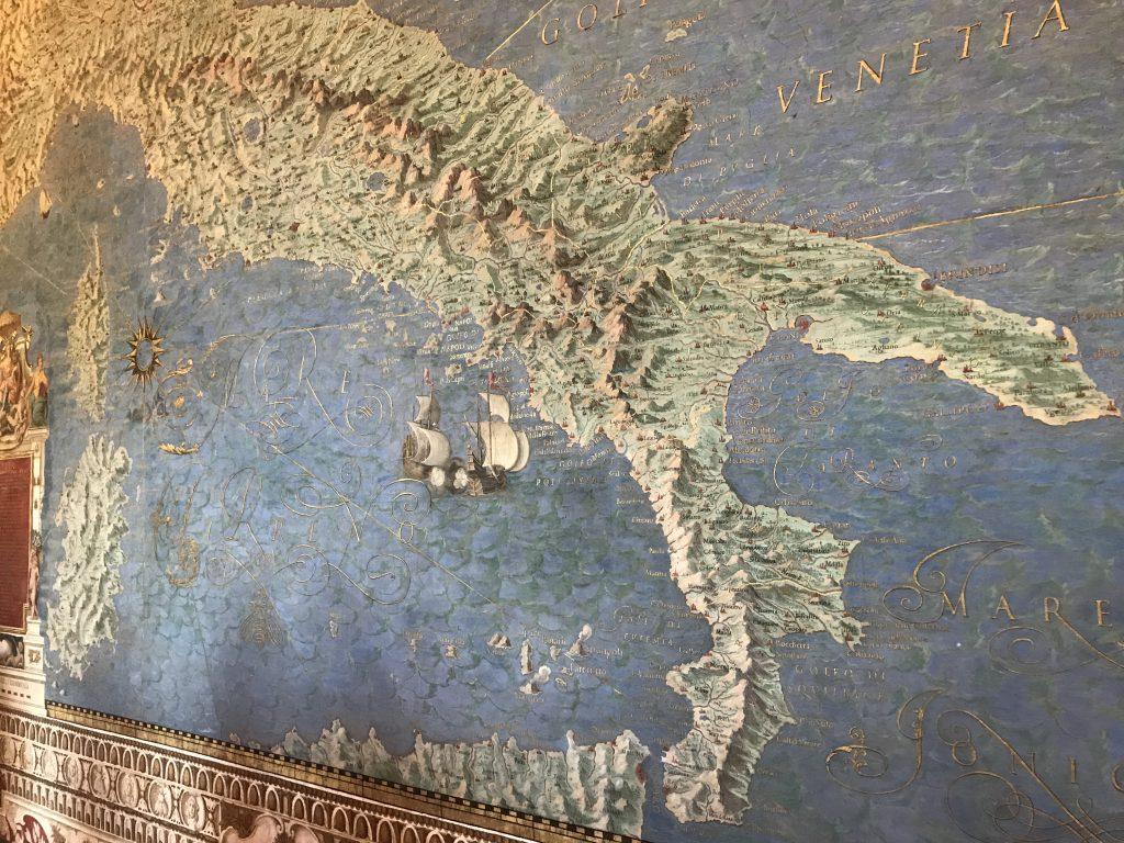 バチカン美術館 地図の間
