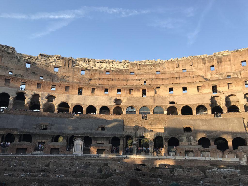 コロッセオ 皇帝席