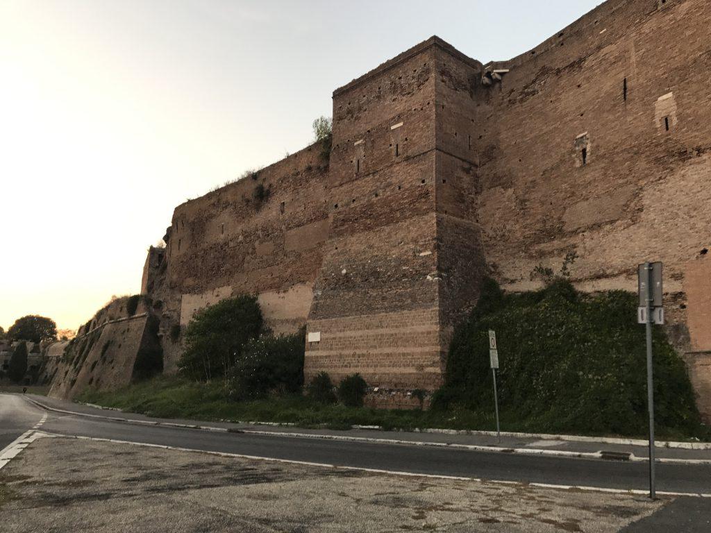 ローマ帝国城壁