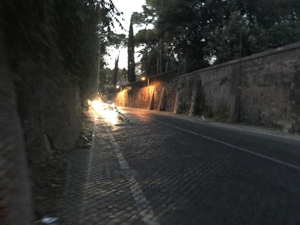 アッピア門までの道