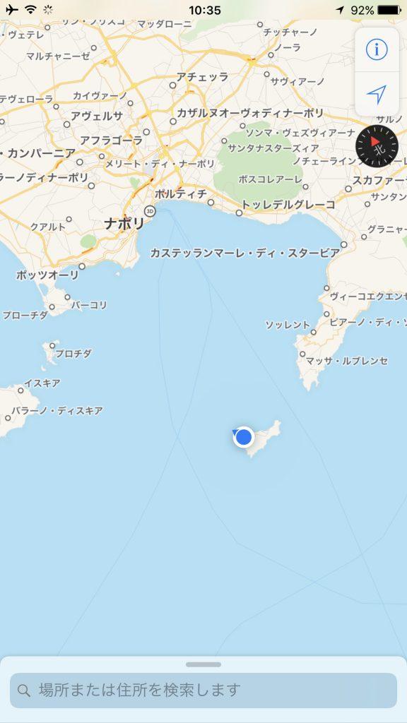 カプリ島 位置