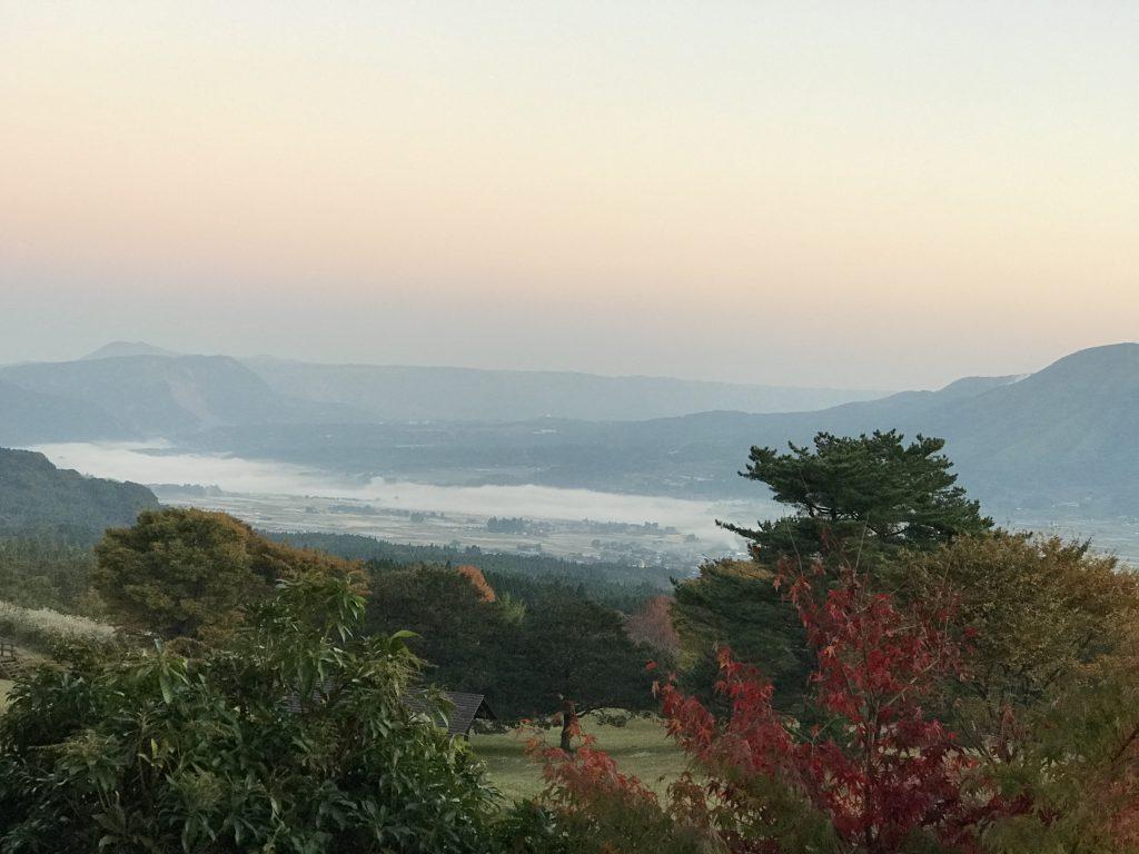 明け方の南阿蘇村