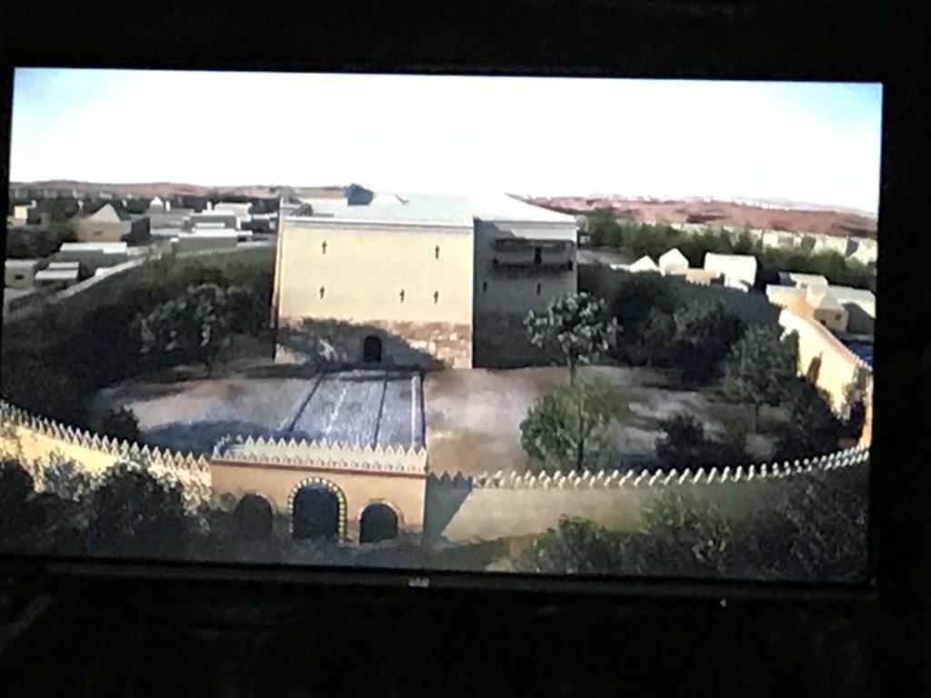 アフラシャブ博物館 シアター