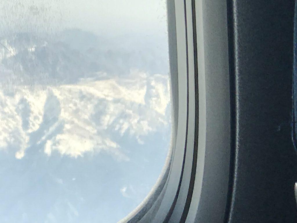 キルギス上空