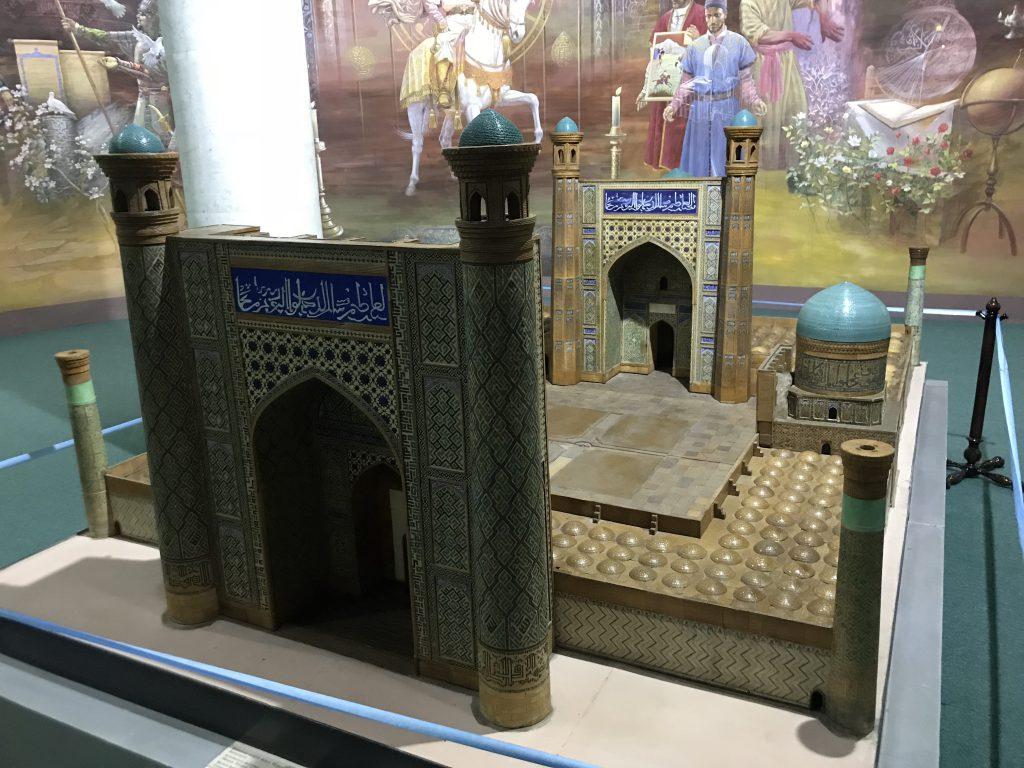 ビビハニムモスク模型