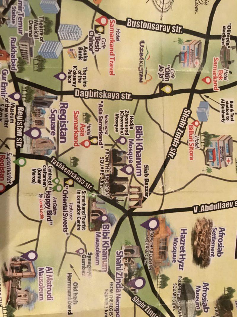 サマルカンド観光で絶対おすすめの7箇所!実際に観光してみた感想
