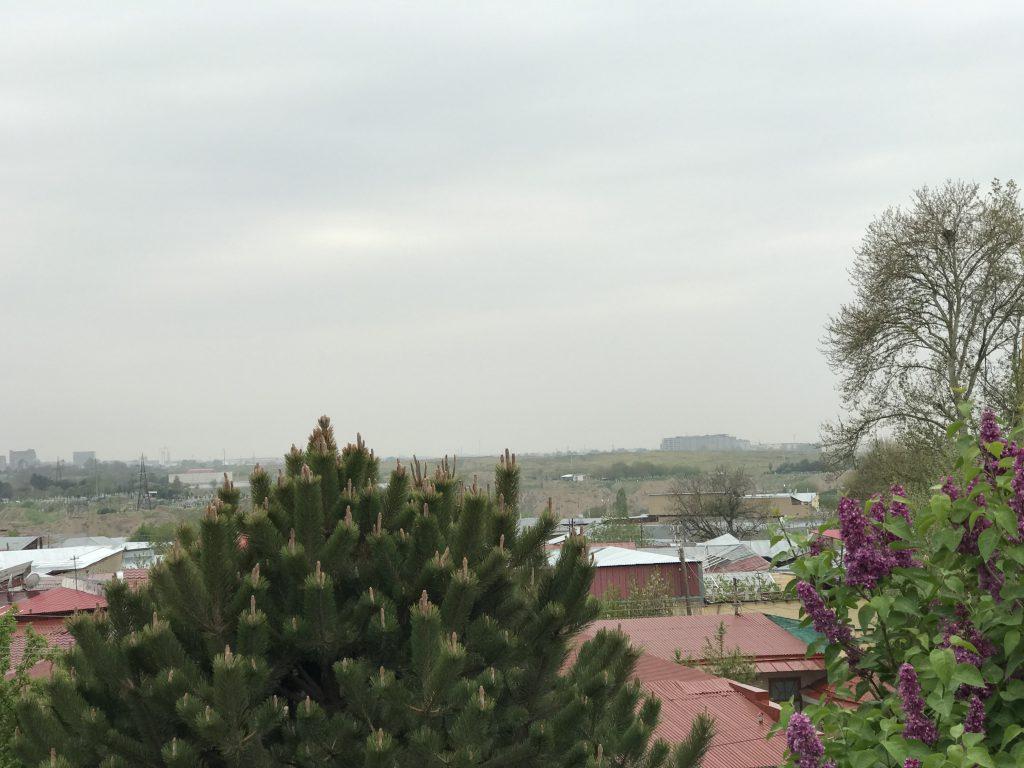 ウルグベク天文台の高台