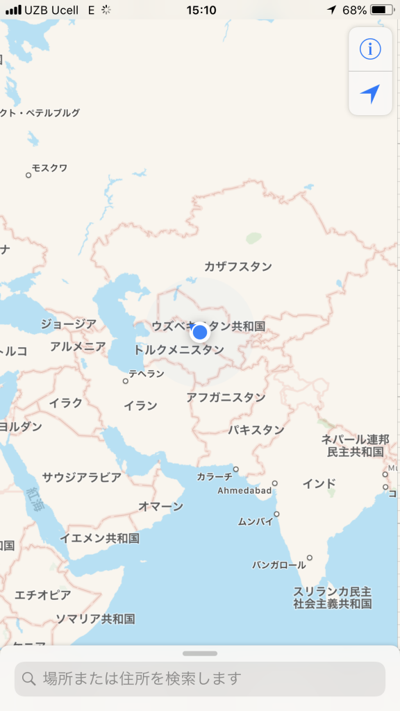 カラカルパクスタン地図