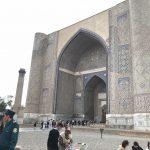 ウズベキスタンのビビハニムモスクとシャブバザールへ!