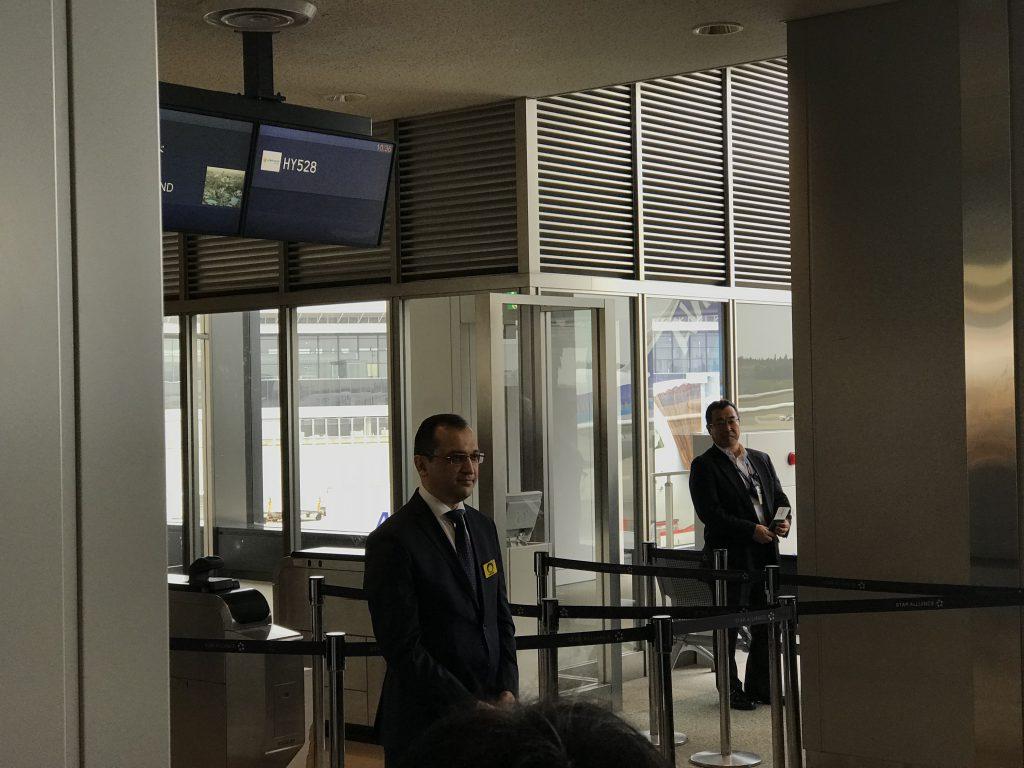 成田空港サマルカンド大使