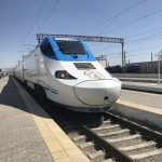 ウズベキスタン高速鉄道アフラシャブ号でサマルカンドからブハラへ