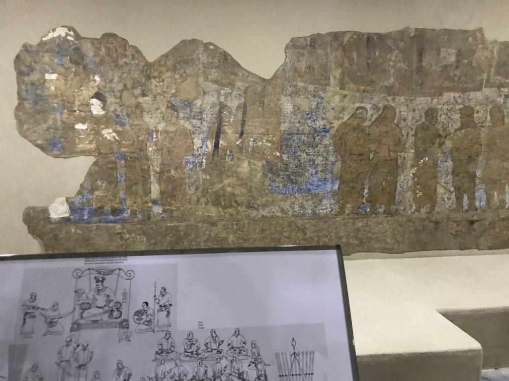 アフラシャブ 壁画