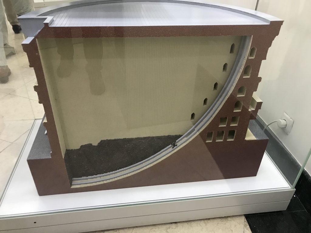 ウルグベク天文台模型