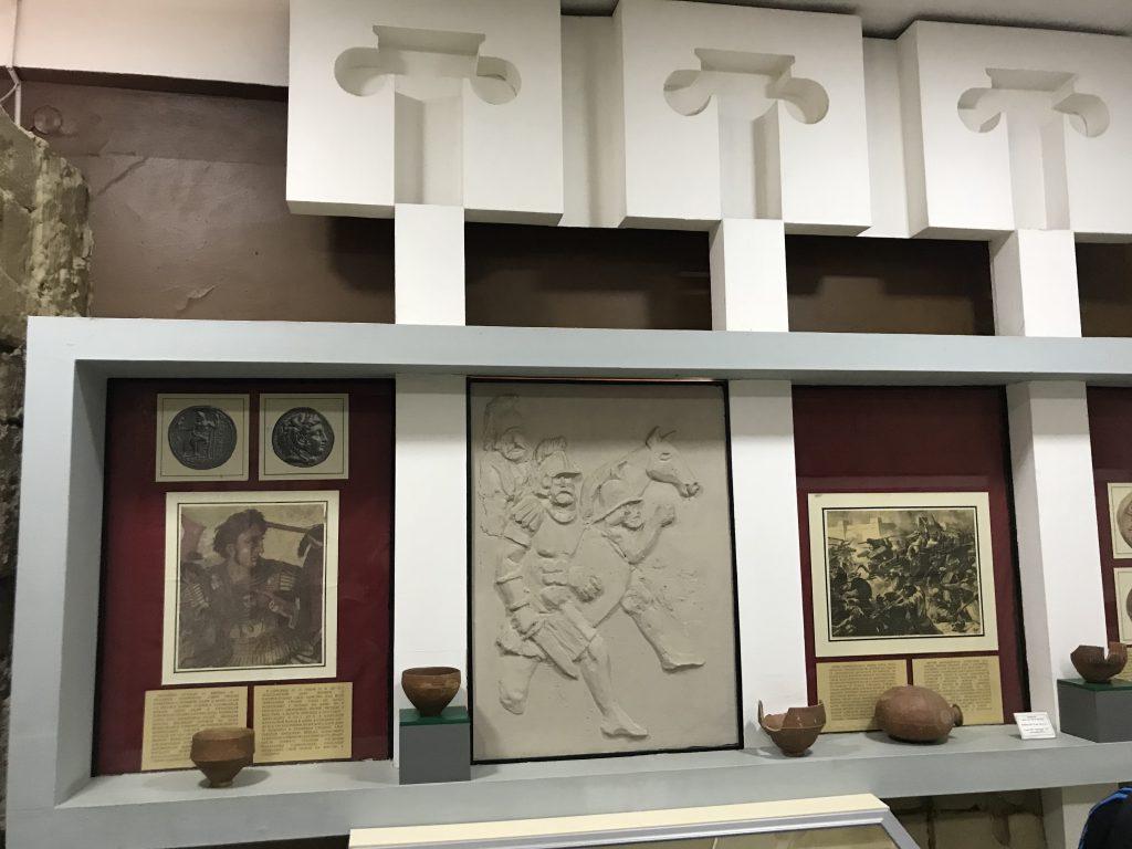 アフラシャブ博物館 アレクサンダー大王
