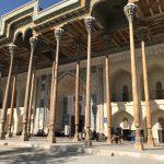 ブハラのボロハウズモスクへ!荘厳ながらも観光地化されてないモスク