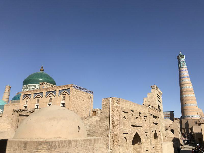 世界遺産イチャン・カラへ!ウズベキスタン唯一の現存する城塞都市