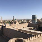 ヒヴァのクフナ・アルク城塞と見張り台からの感動の世界遺産眺望