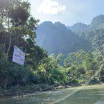 バンビエンでチュービングに挑戦!雨季のラオス辺境で川に流された話