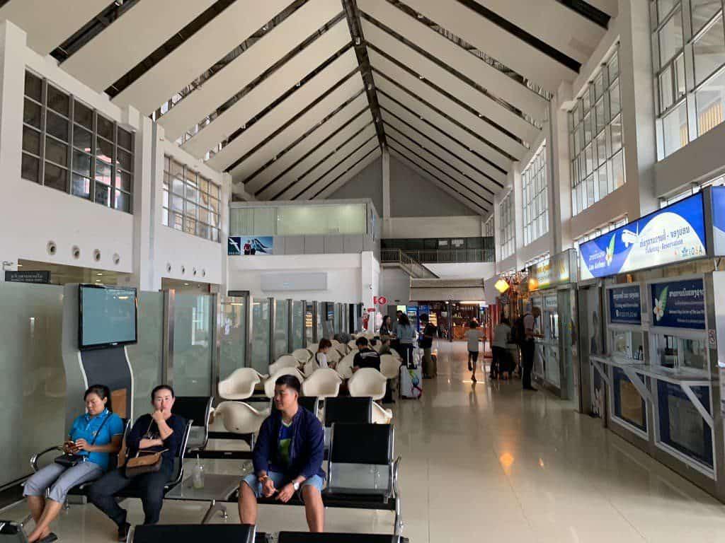 ルアンパバーン国際空港 ロビー