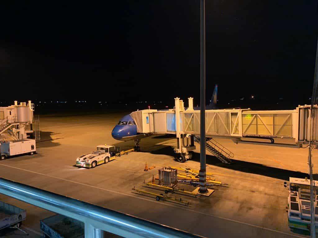 ルアンパバーン国際空港 ベトナム航空