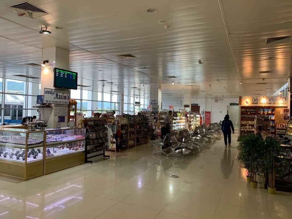 ルアンパバーン 空港