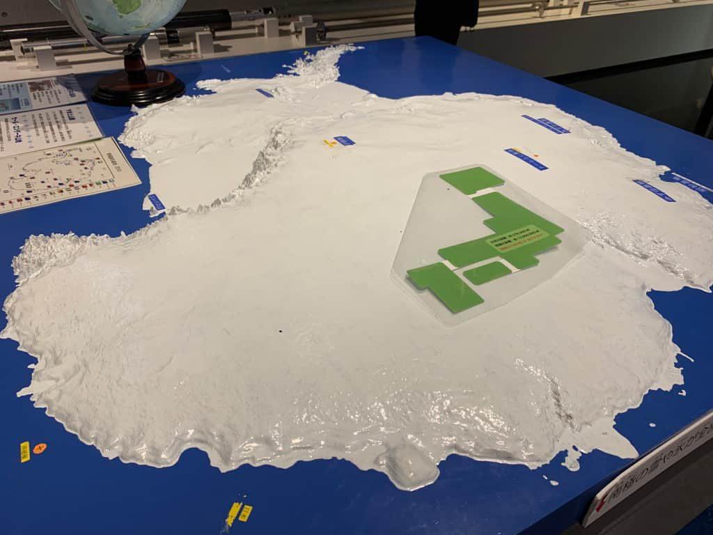南極ジオラマ