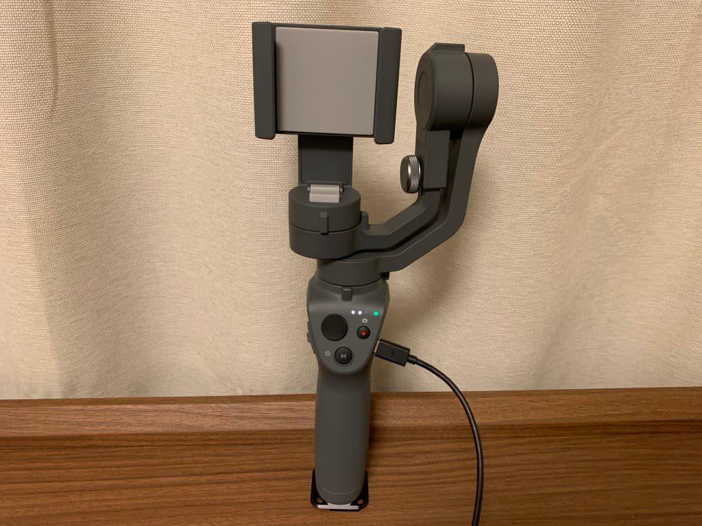 OSMO MOBILE2 充電
