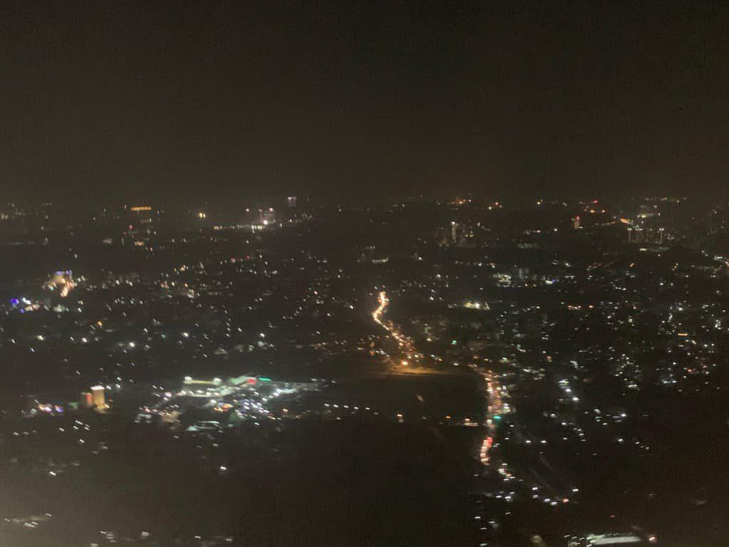 ヤンゴン 夜景