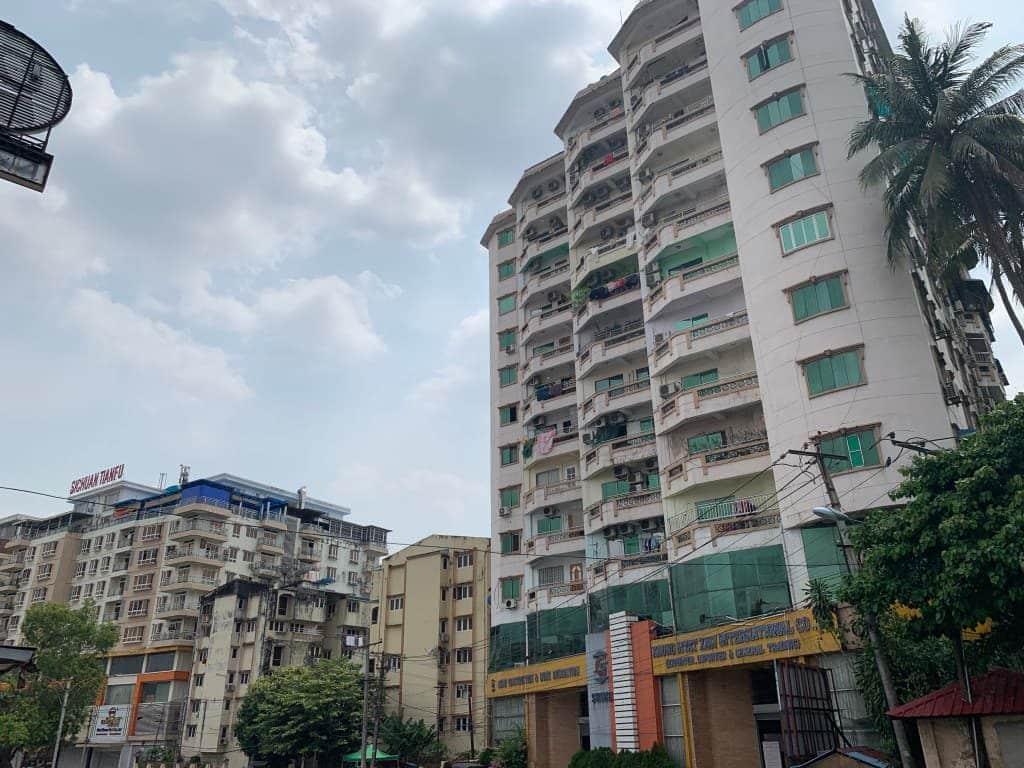 ヤンゴンのマンション