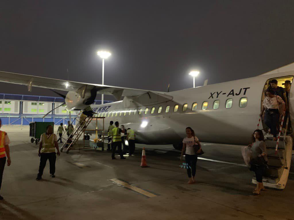 ヤンゴン 空港国内線