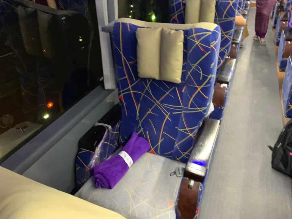JJExpress座席
