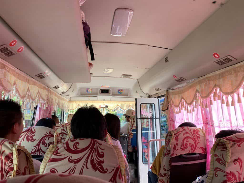 OKバス車内