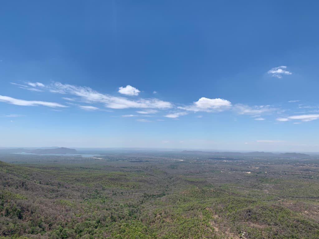 ポッパ山頂上からの景色