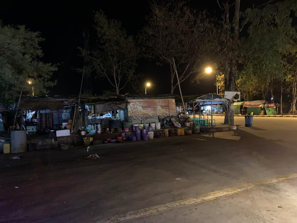 ミャンマーのサービスエリア