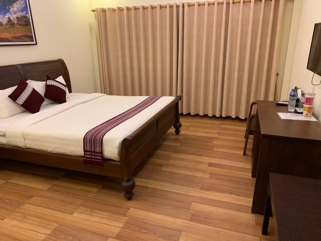 バガンビューホテル 部屋
